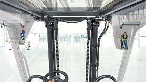 Foto de Linde Material Handling maximiza el campo de visión y la seguridad con las carretillas elevadoras Linde E20R-E35R