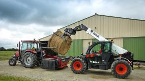 Foto de Nueva gama de cargadoras telescópicas Bobcat para agricultura
