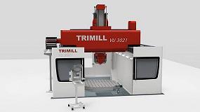Foto de Trimill presenta en AMB su fresadora gantry de 5 ejes más avanzada