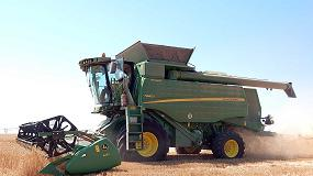 Foto de Las cosechadoras John Deere cobrarán una especial atención en la nueva campaña