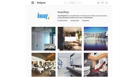Foto de Knauf presenta su perfil en Instagram, basado en un nuevo concepto en diseño