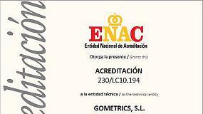 Picture of Gometrics obtiene la acreditaci�n ENAC en presi�n
