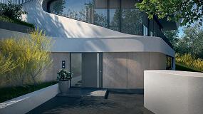 Foto de Hörmann lanza las nuevas líneas de puertas de entrada de aluminio ThermoSafe y ThermoCarbon