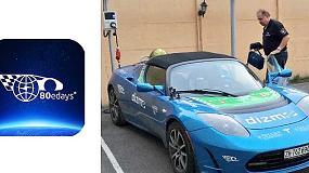 Foto de Circutor, en la vuelta al mundo en 80 días con vehículos 100% eléctricos