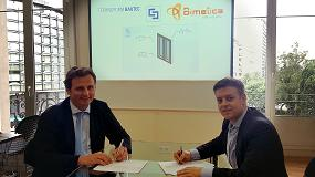 Foto de Bimetica y Technoform Bautec firman un acuerdo de colaboración para promocionar el BIM