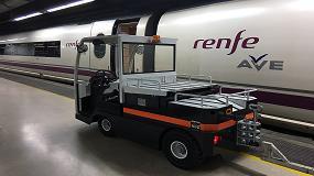 Picture of Carretillas TR suministra siete tractores de arrastre a la estaci�n de Renfe de Sants