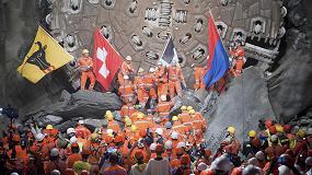 Foto de San Gotardo: el túnel ferroviario más largo del mundo ya está en funcionamiento