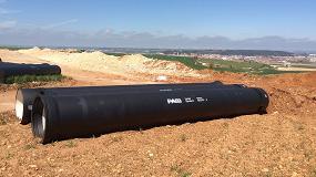 Foto de Saint-Gobain PAM España mejora el anillo de abastecimiento a la zona burgalesa de Cortes