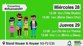 Foto de Houser & Houser organiza 'Encuentros #InfluencersDIY' en Eurobrico