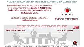 Foto de Intra Automation organiza en Valencia la I Jornada de Introducción Codesys V.3.5