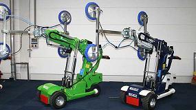 Foto de Spain Crane International ofrece sus robots cristaleros en una amplia variedad de colores