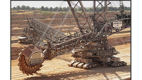 Foto de Los rodamientos NSK demuestran su fiabilidad en una excavadora de rueda de cangilones