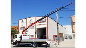 Foto de Transgrúas entrega una grúa Fassi F105A.0.24 e-active a la empresa Cristalería Crevillente