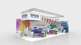 Foto de Epson muestra en C!Print la tecnología de impresión más avanzada sobre cualquier superficie