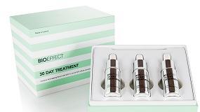 Foto de Bioeffect 30 Day Treatment, una fórmula en envase de lujo de Virospack