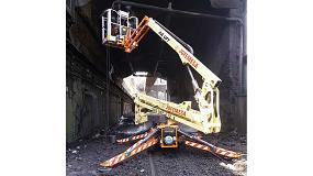 Foto de Una JLG X20J Plus de Jofemesa en las galerías de ArcelorMittal en Avilés