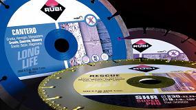 Foto de Rubi renueva su gama de discos de diamante