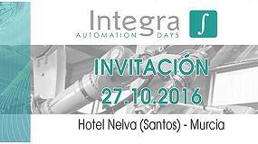 Foto de Murcia acoge una nueva edición de la jornada Integra Automation Day