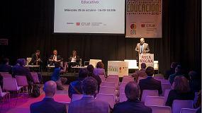 Foto de Simo Educación, marco de celebración del programa de conferencias de Crue Universidades Españolas