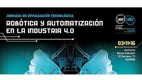 Foto de AER-ATP presenta al sector de la automoción de Madrid lo último en robótica y automatización de procesos