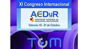 Foto de Molecor, presente en el XI Congreso Internacional AEDyR en Valencia