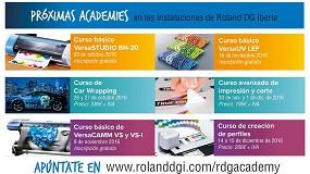 Foto de Roland DG Academy arranca la temporada con nuevos cursos