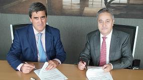 Foto de BEC y Apecs firman un acuerdo de colaboración para Ferroforma 2017