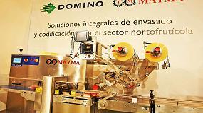 Foto de Domino presenta sus soluciones para sector hortofrutícola