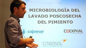 Foto de Citrosol presenta a los productores de tomate y pimiento dos novedosos tratamientos para mejorar su poscosecha