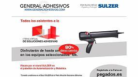 Foto de General Adhesivos lanza una oferta especial en la I Feria Virtual de Soluciones Adhesivas