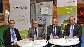 Foto de Ambilamp y Afme presentan Ambiafme, la solución para el reciclaje de material eléctrico