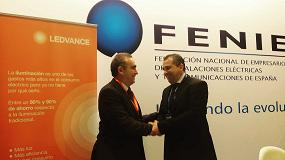 Foto de LEDvance y Fenie firman un acuerdo de colaboración