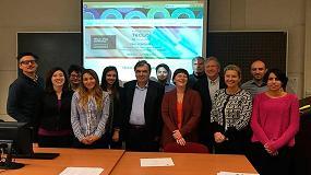 Foto de Conferencia y reunión final del proyecto Teclo