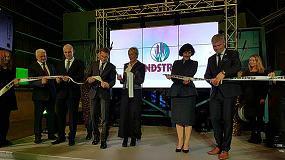 Foto de Pindstrup inaugura su nueva fábrica de fibra de madera en Letonia