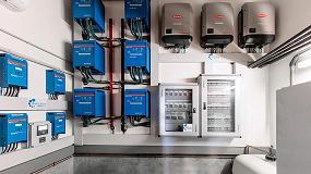 Foto de Suministro eléctrico ecológico independiente