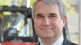 Foto de Christophe Lautray, nombrado presidente de la Federación Europea de la Manutención (FEM)
