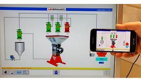 Foto de Control total desde Smartphone o Tablet de aplicaciones desarrolladas por Alimatic