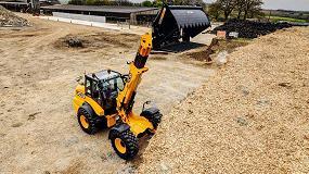 Foto de JCB introduce características y equipos mejorados en las cargadoras de ruedas telescópicas para trabajos pesados JCB TM320 y TM320S