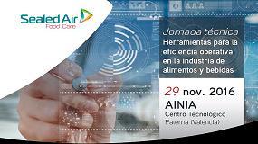 Foto de Sealed Air y Ainia organizan una jornada sobre herramientas para la reducción de costes operativos en plantas