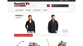 Foto de Haulotte Group lanza su nueva tienda online