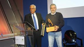Foto de La empresa Navarra de Suelo y Vivienda, galardonada con el premio Fomenta la Bioenergía 2016 que concede Avebiom
