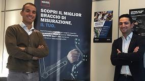 Fotografia de Creaform extiende sus servicios en metrología y su experiencia tecnológica en Italia