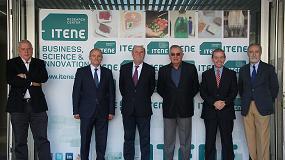 Foto de Andrés García Reche visita las instalaciones del centro tecnológico Itene