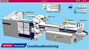 Foto de Wittmann Battenfeld con la nueva industria 4.0: módulo CMS (Condition Monitoring System)