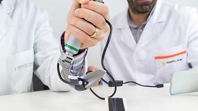 Foto de Un adaptador plástico de bajo coste permite dotar de visión a los laringoscopios convencionales