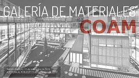Foto de Tabiques y fachadas Knauf en la Materioteca del Colegio de Arquitectos de Madrid