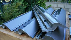 Foto de Metalmaq fabrica un acoplamiento de últiles estándar para plegadora con amarre especial