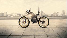 Foto de Híbrido de moto y bicicleta basado en la tecnología de rodamientos NSK