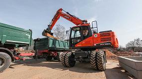 Foto de Nuevas excavadoras de ruedas DX140W-5 y DX160W-5 de Doosan: grandes prestaciones en un nuevo diseño