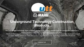Foto de Mapei renueva la web de UTT